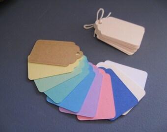 Color choices, 10 medium-sized blank labels, 2.4 cm x 4 cm