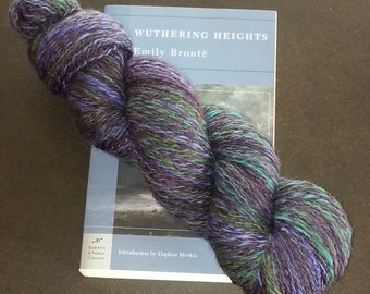 sock yarn - Heathcliff 452 yrds. handspun
