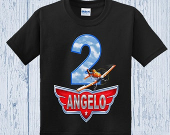 Disney Planes Birthday Shirt