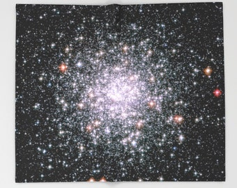 Stars Throw Blanket, Outer Space Decor, Home Decor, Cosmic Wonder