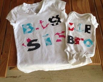Personalized baby / toddler clothes