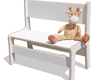 Kids Bank - stylish and incredibly stable. With white surface coating