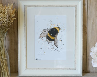 Limited Edition Bumble Bee print