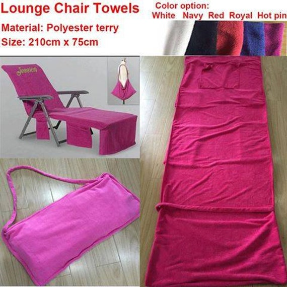 Items Similar To Personalized Chair Towel Cover/Lounge