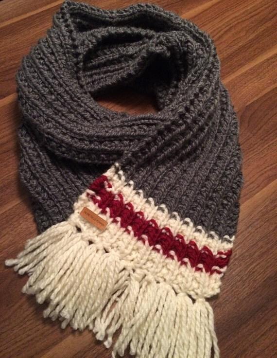 foulard franges de type bas de laine. Black Bedroom Furniture Sets. Home Design Ideas
