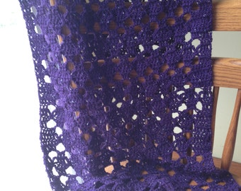 Shawl in Purple