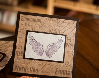 Handmade Christian Greeting Card