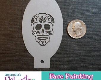 Airbrush skull | Etsy
