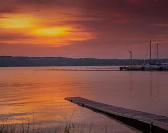 Dock at sunset Digital Download 5000x3000px