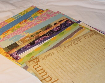 12x12 Scrap Book Paper Pack of 21
