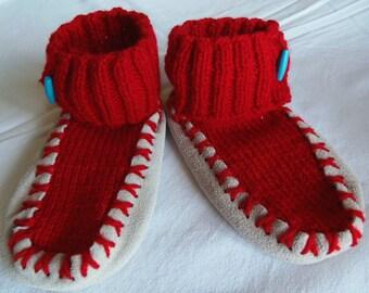 slippers wool 2/4 years