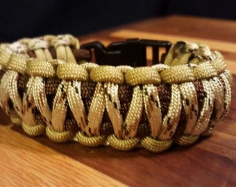 8 1/4 inch King Cobra Paracord Bracelet