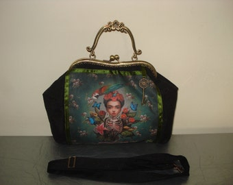 Hand Bag Frida Kahlo