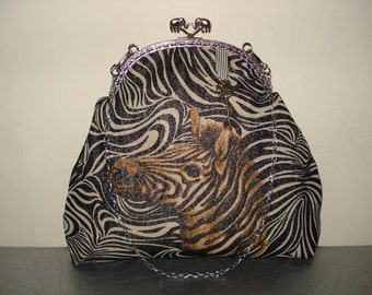 Zebra Metal mouthpiece Bag