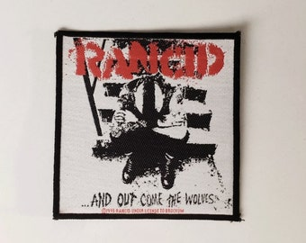 A Rancid And Out Come The Wolves Sew On Patch