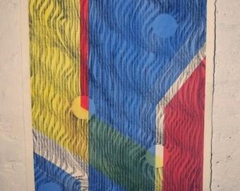Untitled 3, Kat Bruno, Watercolor & Charcoal on Paper, Original work, Portland, 2015