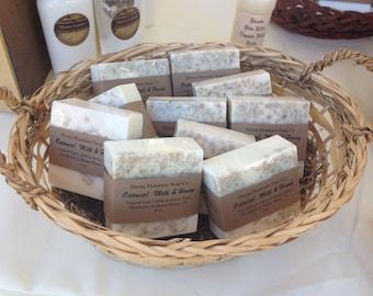 Oatmeal, Milk and Honey ~ Goat's Milk & Honey Soap