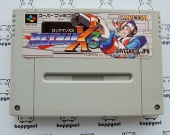 Rockman X 3 (loose) Super Famicom