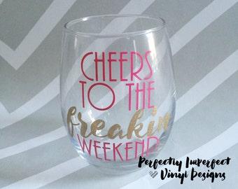 Stemless Wine Glass//Personalized Wine Glass//Bachelorette Party//Personalized Stemless Wine Glass//Wine Glass Quote//Funny Wine Glass/