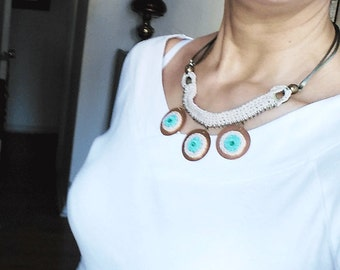 Necklace three Mandalas