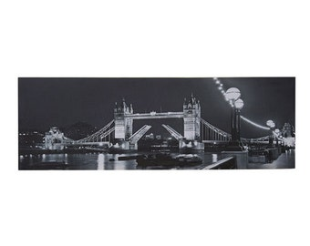 London Light Up Canvas