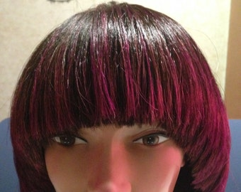 Personalized human hair wigs