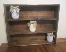 Shadow Box Shelf