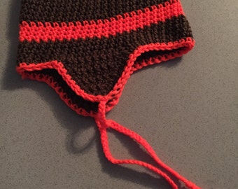 "Handcrafted Earflap Beanie - ""Snoochy Boochies"""