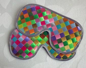Summer Time Sleep Mask Satin Ribbon Eye Mask Gift