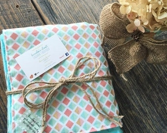 Season Sale Minky Baby Blanket , Minky Blanket , Baby Blanket , Baby Shower Gift Girl