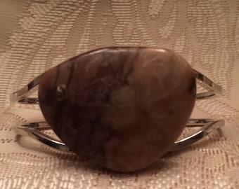 SALE! Brown Zebra Stone Bracelet