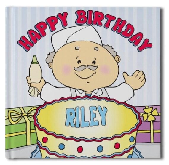 Happy Birthday Book Personalized Children's Book Gift