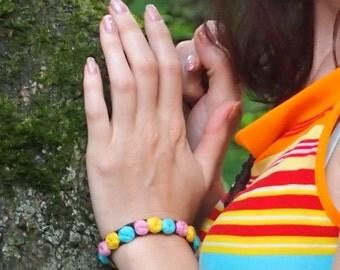 Crochet bracelet pattern, crochet pattern Flower Bracelet with embroidery, crochet flower bracelet, crochet rose bracelet