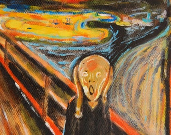"The ""Cree"" according to Edvard Munch"