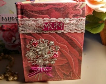 Mother's Day Hand Crafted Notebook