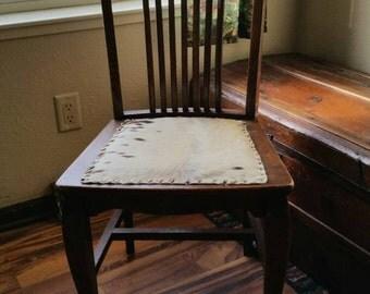 Antique Cowhide Chair