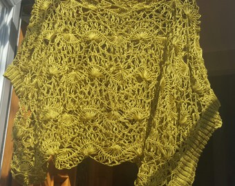 Lace knitted top, size M-L