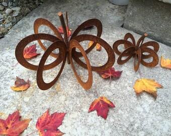 Metal Decorative Pumpkin Sculpture