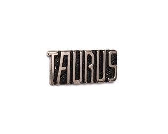 Taurus Vintage Lapel Pin