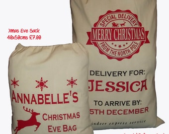 Personalized Special Delivery Sack