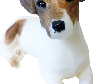 Jack Russell ornamental candle