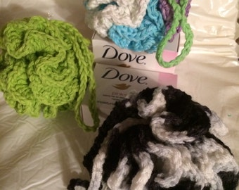 Crocheted Loofah - Bath pouf