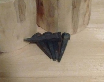 Hand forged Nails - 1""