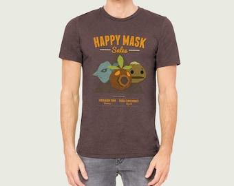 Happy Mask Sales Zelda Inspired T-shirt