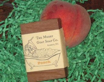 Peaches & Cream Goat's Milk Soap