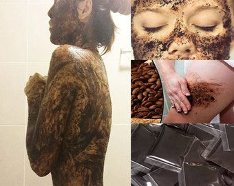 Coffee Powdae  Body Scrub get rid of cellulite,skin to be smooth