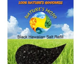 Black Hawaiian Salt 1LB Refill