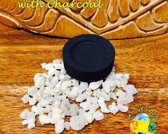 Frankincense Rock with Charcoal