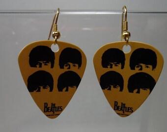 Beatles Guitar Pick earrings on GP Ear Wires