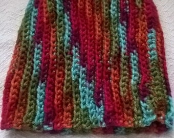 Multicolored Ribbed Hat